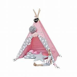 Teepee Zelt Kinder : tipi zelt indianerzelt f r kinder f r kinderzimmer wigwam 140x120x120 cm tipi tent ~ Whattoseeinmadrid.com Haus und Dekorationen