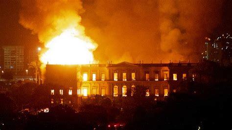 Incendio Del Museo Nacional De Brasil Historia