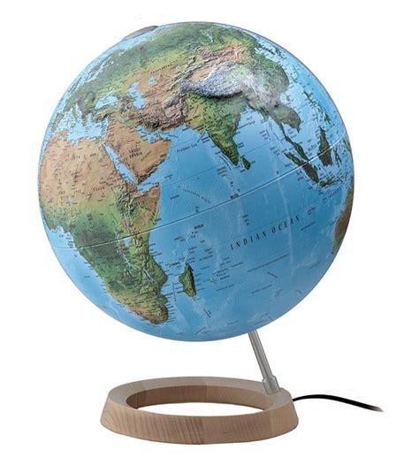 Full Circle Relief/Political Illuminated World Globe 30cm ...