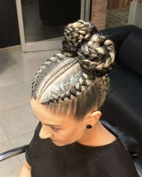 remarkable box braids examples  white girls natural