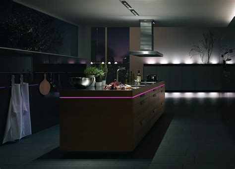 Kitchen Mood Lights by кухни Pronorm Lichtinsel