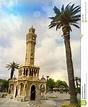 Izmir clock tower stock image. Image of izmir, clock ...