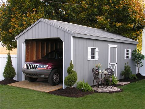 ready built sheds prefabricated garages in pa one car garages nj ny ct