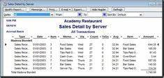 Restaurant Chart Of Accounts Quickbooks Online Quickbooks Chart Of Accounts Import File Simple