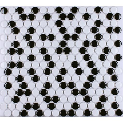 white porcelain mosaic tile kitchen porcelain tile penny round mosaic ceramic tiles black white porcelain wall tile