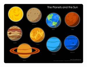The Planets and the Sun - Tim's Printables