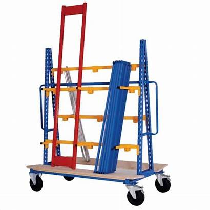 Vertical Stockage Cantilever Mobile Axess Industries Rayonnage