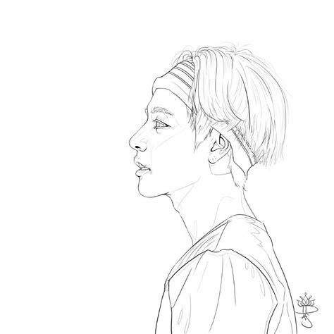 kpop bt coloring pages