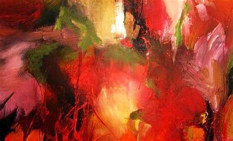 acryl auf leinwand abstrakt bild herbst blumen acryl auf leinwand abstrakt