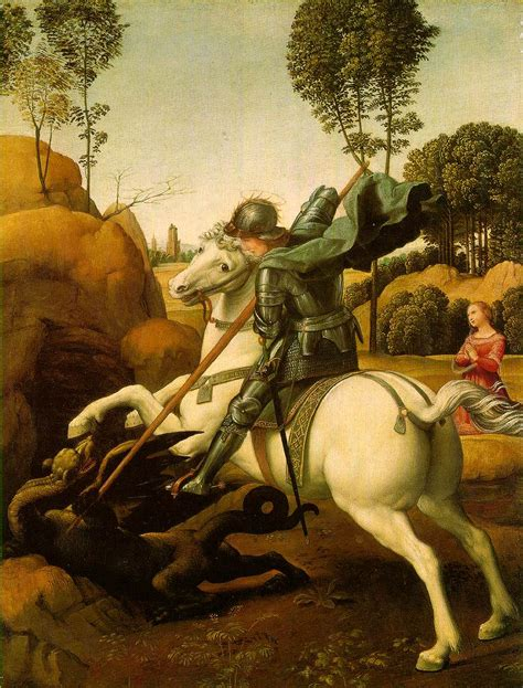 saint georges et le dragon rapha 235 l national gallery of