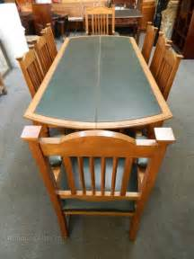 oak boardroom table and chairs antiques atlas