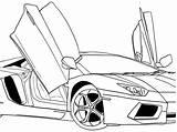Cool Coloring Cars Printable Getcolorings Colorings sketch template