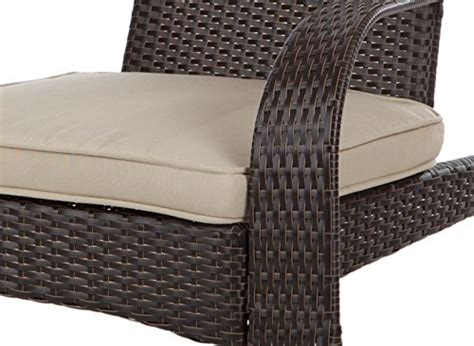 patio sense coconino wicker adirondack chair home