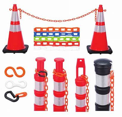 Plastic Chain Safety Cobra Tape Test Prevent