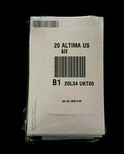 2020 Nissan Altima Owners Manual W   Navi  Still Sealed