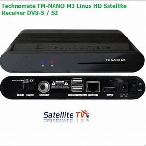 Technomate Tm-nano M3 Linux Hd Dvb-s    S2 -  U20ac99 95