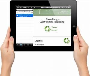 connect paperless meetings With mobile document management