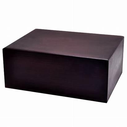 Urn Box Urns Wooden Brown Dark Wholesale