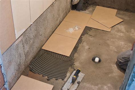Tips On Installing Tile Floor In Bathroom  Creative Home