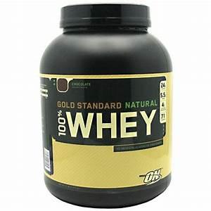 Optimum Nutrition  U2013 100  Whey Gold Standard Natural Protein Chocolate  U2013 5 Lbs