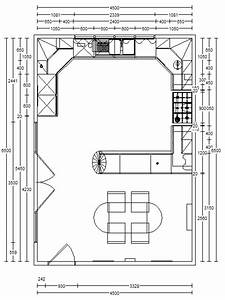 Attractive kitchen floor plans with ideas pictures awesome for Awesome design a kitchen floor plan