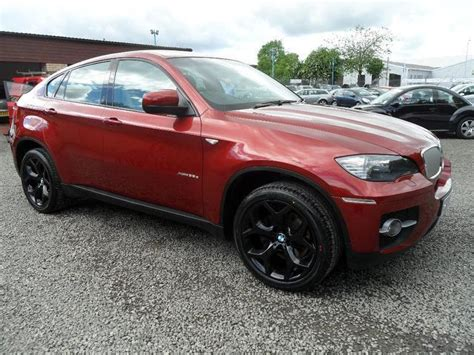 Used Red Bmw X6 2010 Diesel Xdrive30d 5dr Step Auto 4x4