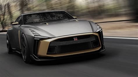 2019 Nissan Gtr-50 By Italdesign