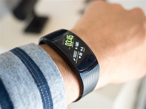 samsung gear fit  pro hands  simple improvements