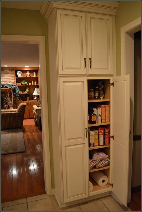 pantry cabinets  utilize  kitchen custom home design