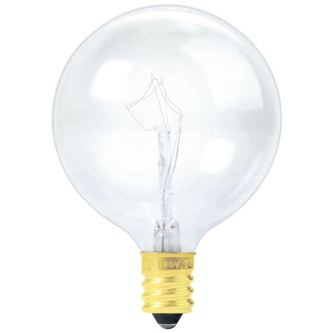 60g16 cl130 60 watt clear globe bulb