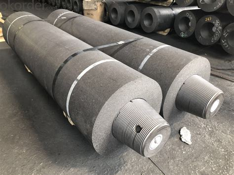 rphpshp uhp graphite electrode  mm  eaf lf steel smelting