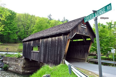 Vermont Covered Bridge Photos History Directions