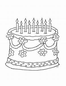 Dessin Gateau Anniversaire : gateau anniversaire coloriage anniversaire coloriages ~ Melissatoandfro.com Idées de Décoration