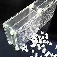 good looking acrylic glass block Ready to ship Acrylic Blocks - 70% lighter than glass! Buy individual blocks or a case of blocks.