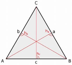 Höhe Dreieck Berechnen Formel : gleichseitiges dreieck geometrie rechner ~ Themetempest.com Abrechnung