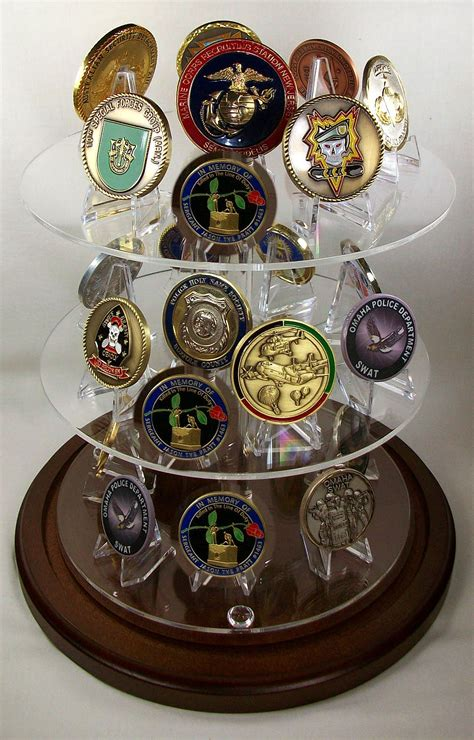 coin dome shelf display case glass coin dome display challenge coin dome display