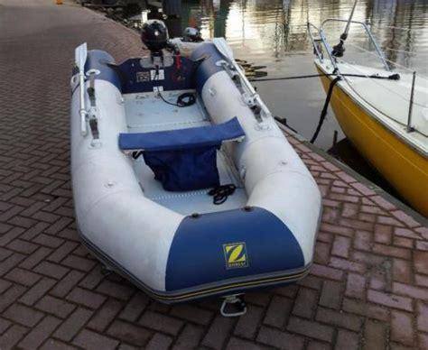 Rubber Boot Zodiac by Zodiac Rubberboot Met Buitenboormotor Advertentie 666294