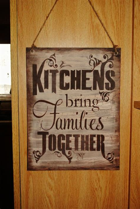 kitchen wood sign kitchen decor kitchens bring families grandma mom kitchen sign