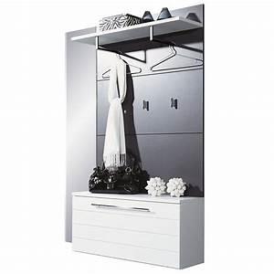 vestiaire avec meuble chaussure With meuble a chaussure avec miroir 5 meuble rangement chaussures et vestiaire lateral achat