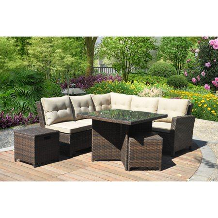 homes  gardens baytown  piece woven sectional