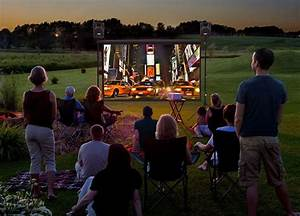 How To Set Up A Backyard Movie Theater