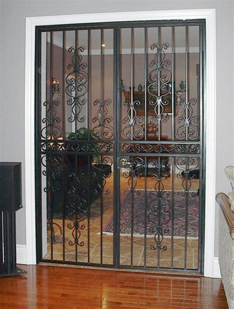 interior gates home 17 best images about security gate on patio