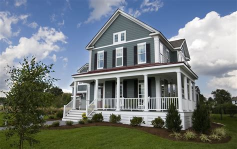 Two Luxury Single Family Houses With And Grey Decor by 7 Blue House Siding Ideas Allura Usa