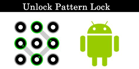 android xrom how to remove pattern locked on android