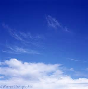 Blue sky with clouds photo - WP00905