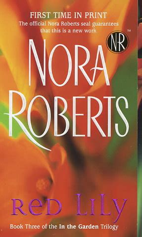 red lily  nora roberts fictiondb