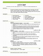 Marketing, Advertising And Pr Resume Template for ...