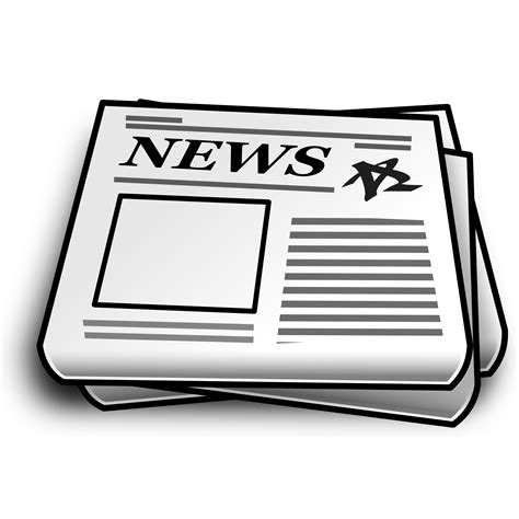 microsoft cliparts newspapers   clip art