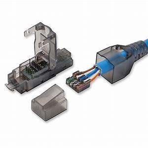 Fiche Rj45 Cat 6 : rj45 cat 6 utp field connector modular plug free of ~ Dailycaller-alerts.com Idées de Décoration