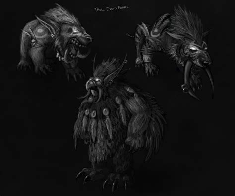 worgen druid forms wow general wowhead